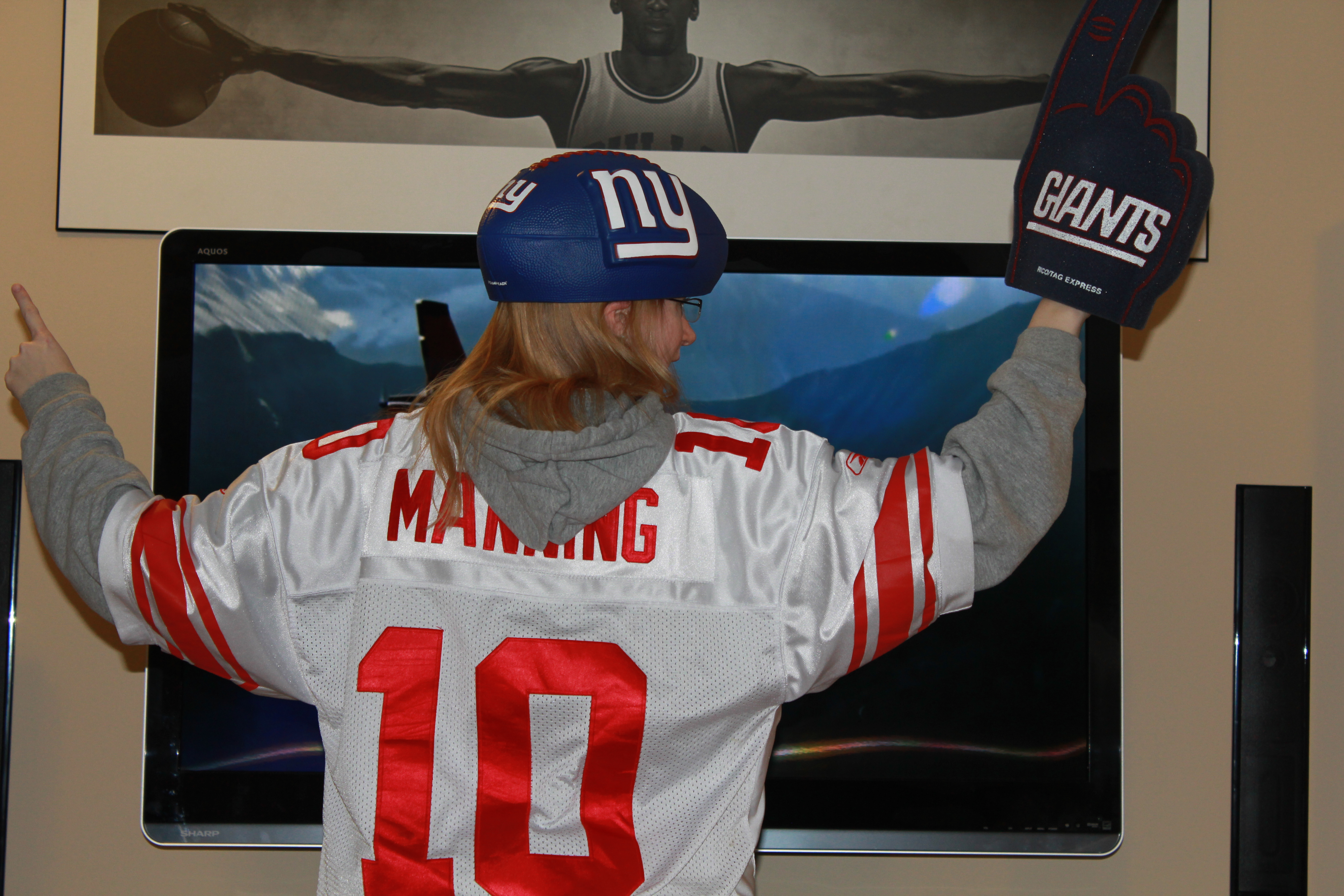 New York Giants Manning