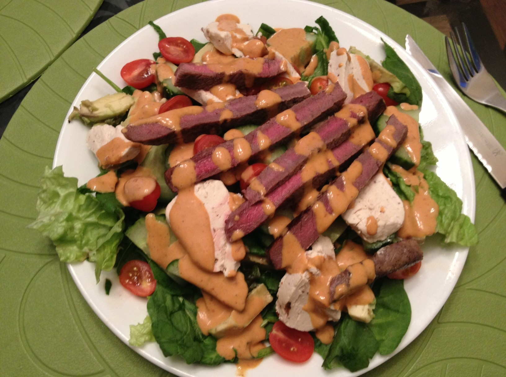 Deluxe Chipotle Salad Dressing