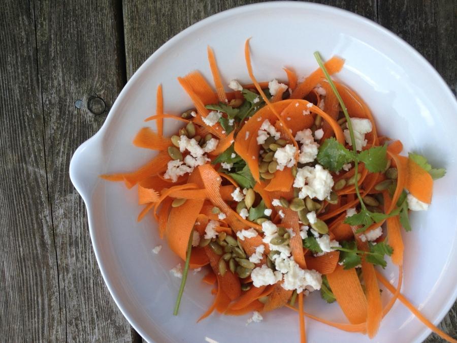 Carrot Feta Salad