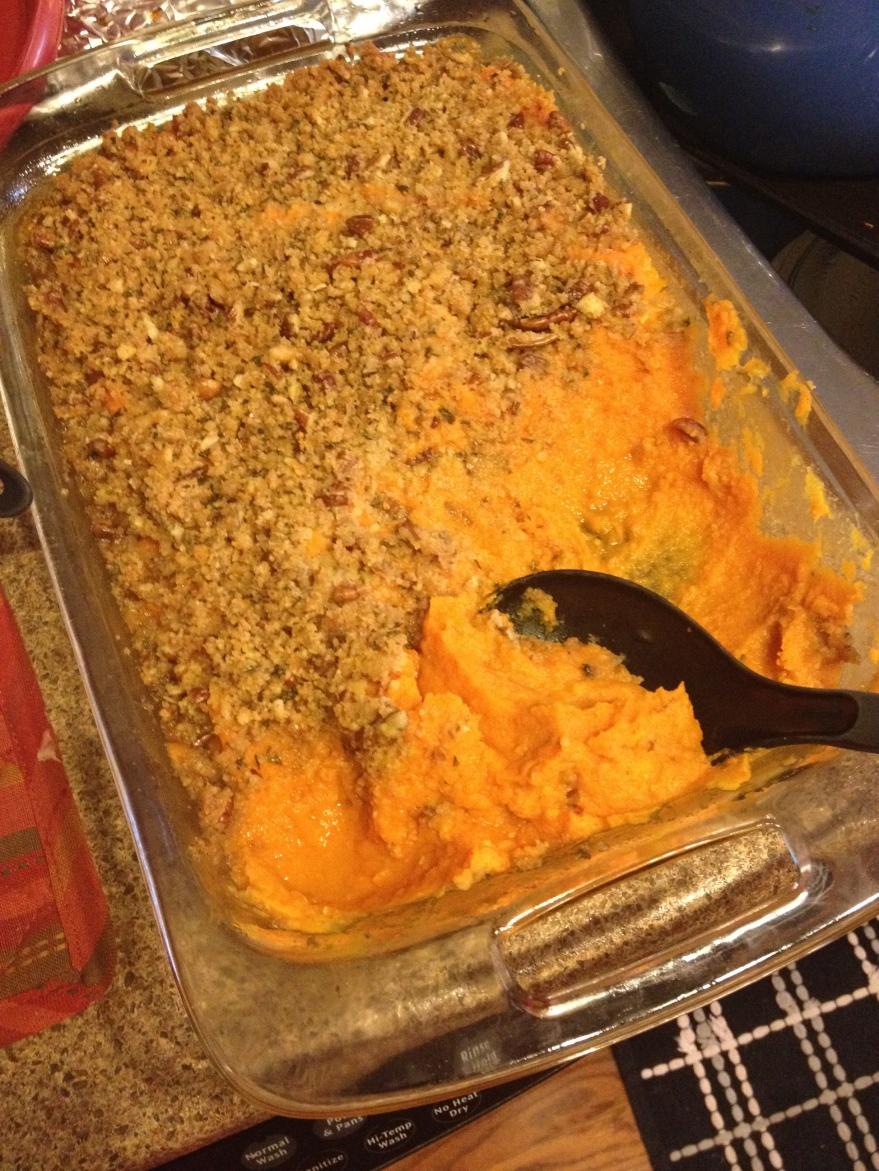 Sweet Potato Carrot Casserole