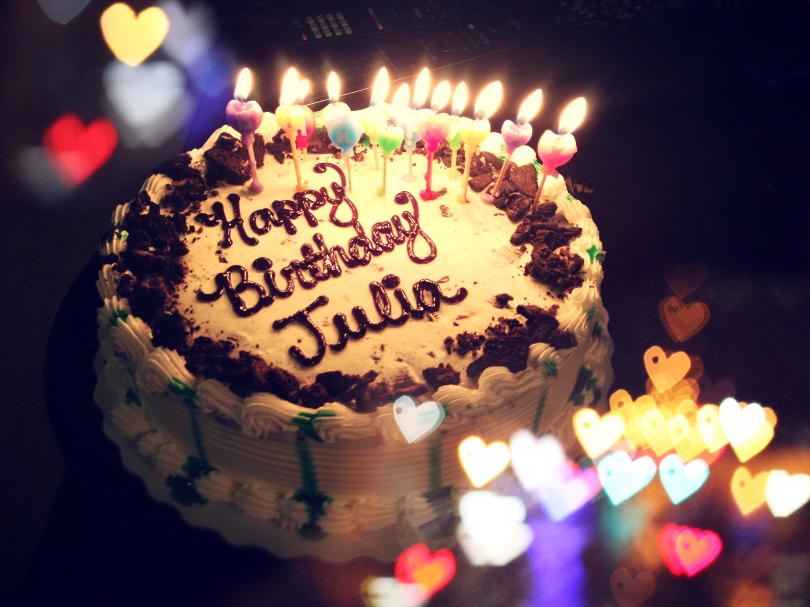 Julia's birthday