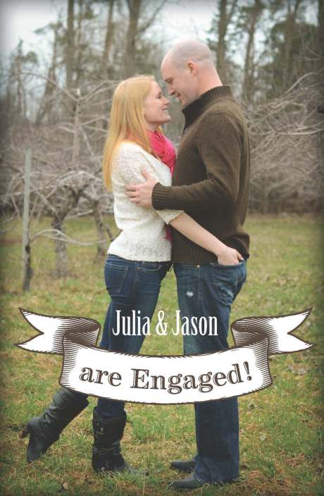Julia Kent Jason Hanrahan Engagement Wedding Announcement