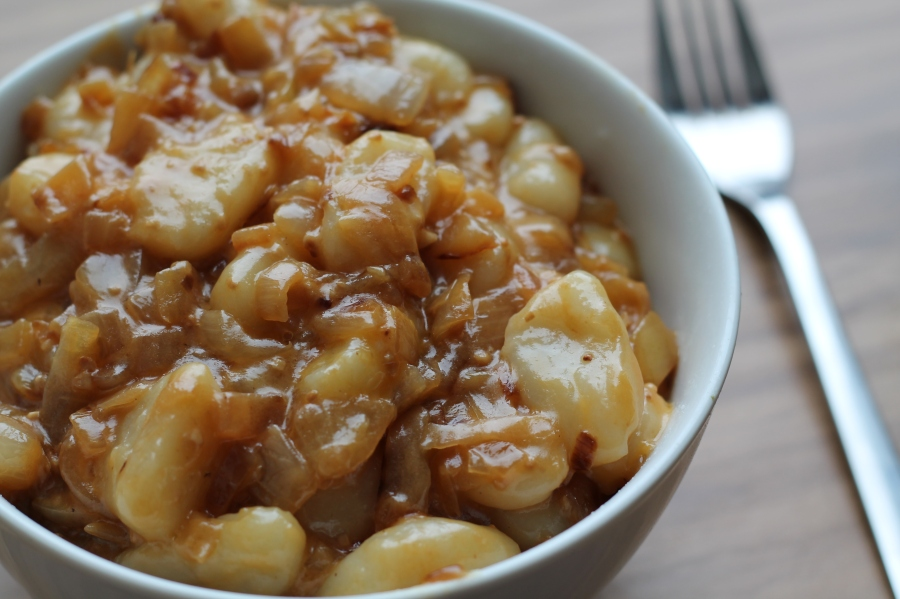 Caramelized Onion Gnocchi