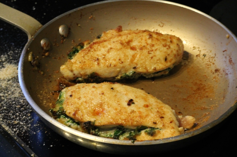 Spinach & Goat Cheese Stuffed Chicken
