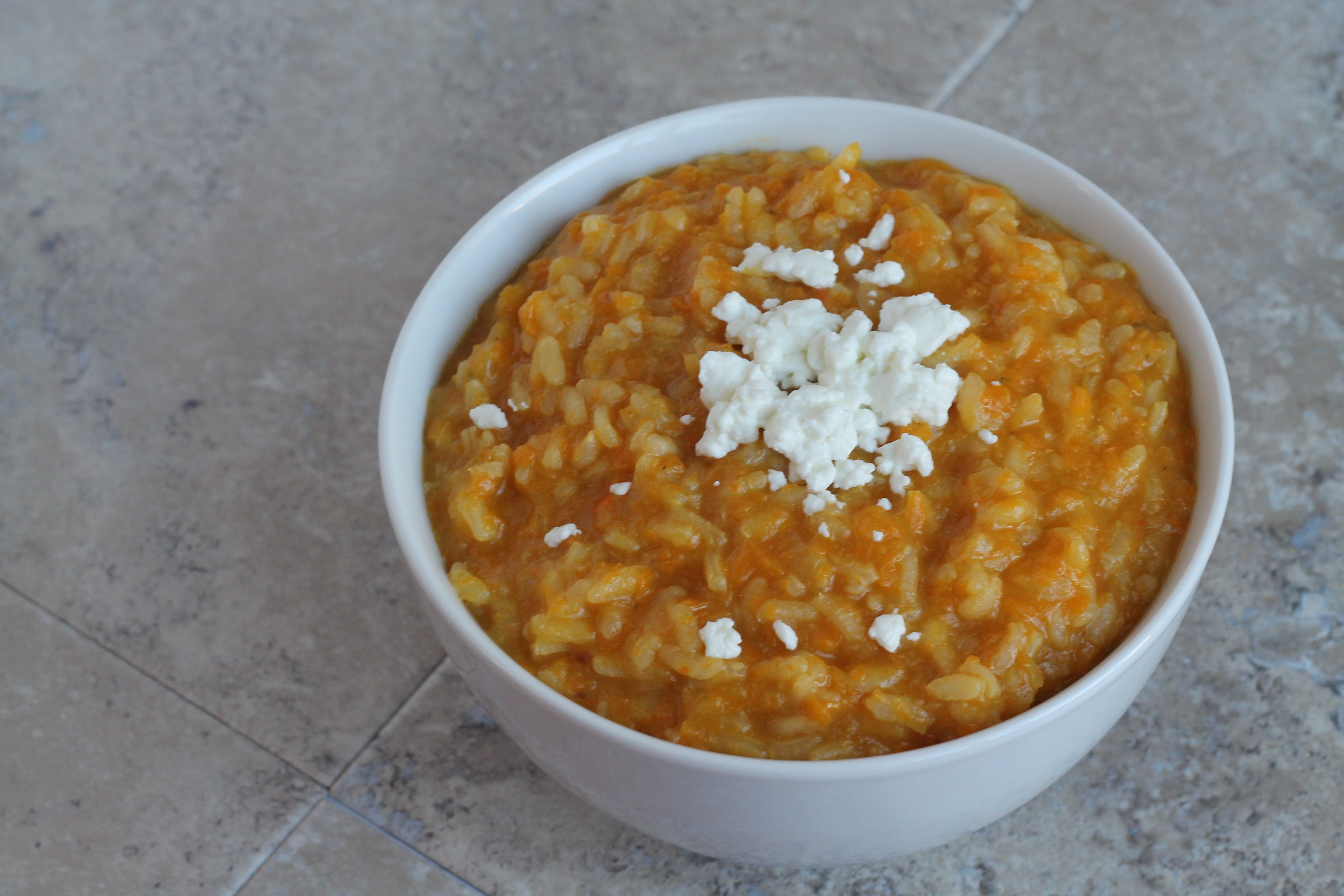 Butternut Squash & Goat Cheese Risotto