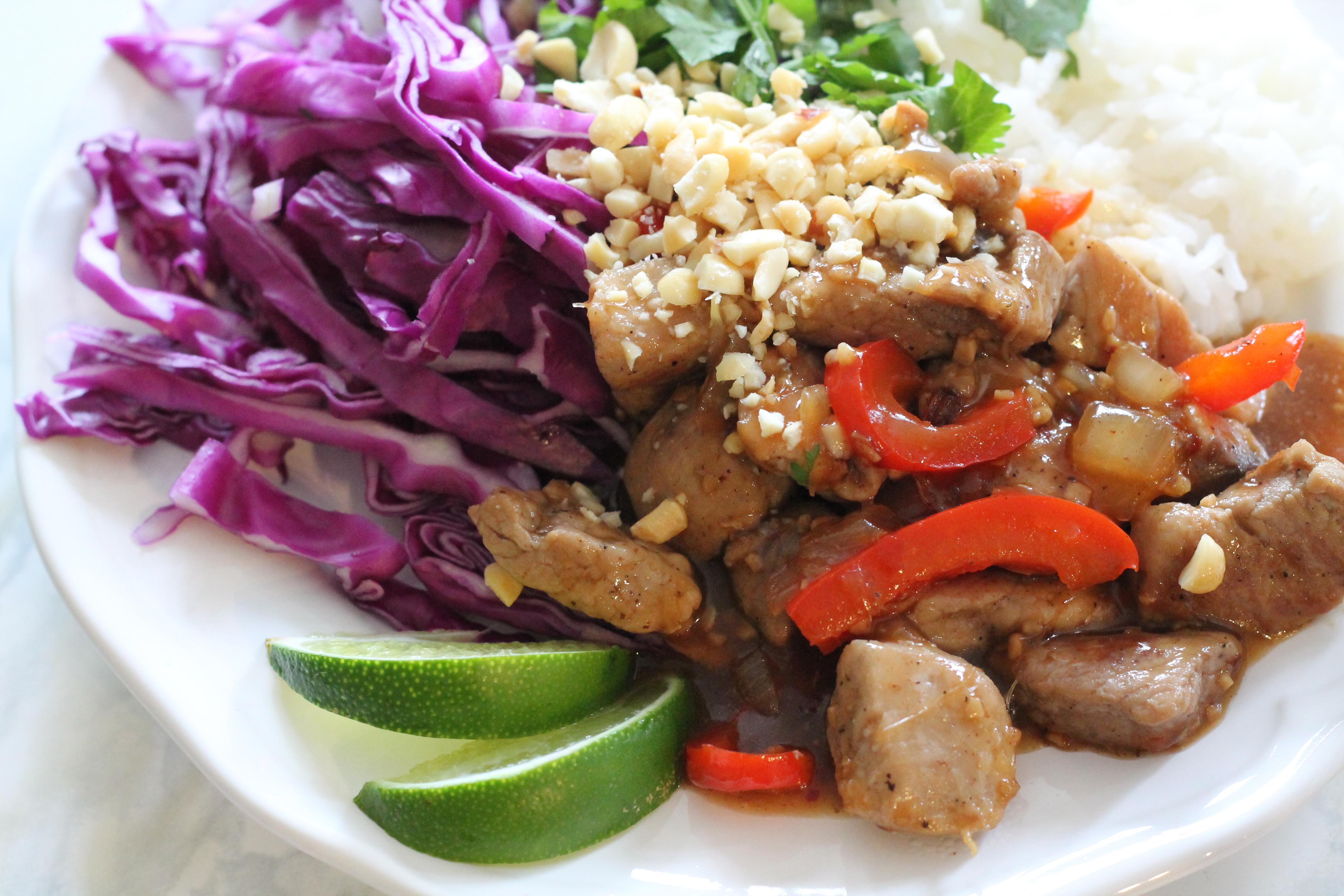 Vietnamese Caramel Pork Bowl