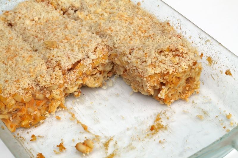 Sweet Potato Mac Cheese
